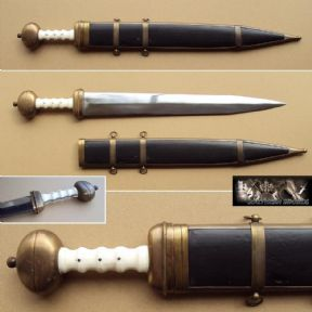 Roman Gladius Sword & Sheath